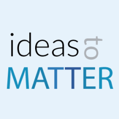 Ideas to MATTER